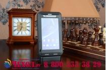Неубиваемый водостойкий противоударный водонепроницаемый грязестойкий влагозащитный ударопрочный фирменный чехол-бампер для Sony Xperia Z2 (D6503)  цельно-металлический со стеклом Gorilla Glass