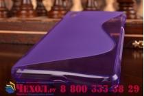 Фирменная ультра-тонкая полимерная из мягкого качественного силикона задняя панель-чехол-накладка для Sony Xperia Z2 (D6503) фиолетовая