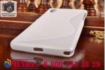 Фирменная ультра-тонкая полимерная из мягкого качественного силикона задняя панель-чехол-накладка для Sony Xperia Z2 (D6503) белая