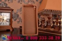 """Фирменная необычная уникальная полимерная мягкая задняя панель-чехол-накладка для Sony Xperia Z2 (D6503) """"тематика Андроид в тёмном Шоколаде"""""""