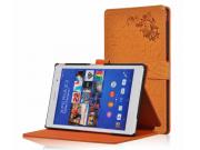 Фирменный чехол закрытого типа с красивым узором для планшета Sony Xperia Z3 Tablet Compact (SPG611/SGP621RU) ..