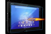 """Фирменное защитное закалённое противоударное стекло премиум-класса из качественного японского материала с олеофобным покрытием для Sony Xperia Z4 Tablet SGP712/SGP771 10.1"""""""