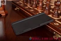 Фирменная металлическая задняя панель-крышка-накладка из тончайшего облегченного авиационного алюминия для Sony Xperia Z4 /Z3+ черная