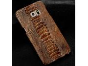 Фирменная неповторимая экзотическая панель-крышка обтянутая кожей крокодила с фактурным тиснением для  Sony Xp..