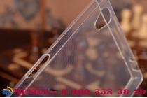 "Фирменная задняя панель-крышка-накладка из ультра-тонкого силикона для Sony Xperia Z5 Premium / Z5 Premium Dual E6853 / E6883/ Z5+ 5.5"" прозрачная"