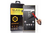 """Фирменное защитное закалённое противоударное стекло премиум-класса из качественного японского материала с олеофобным покрытием для Sony Xperia Z5 Premium / Z5 Premium Dual E6853 / E6883/ Z5+ 5.5"""""""