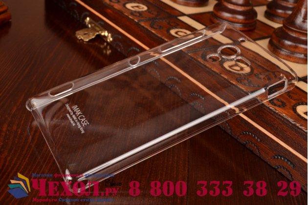 Фирменная ультра-тонкая пластиковая задняя панель-чехол-накладка для Sony Xperia ZL прозрачная