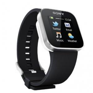 Фирменная оригинальная защитная пленка для умных смарт-часов Sony SmartWatch глянцевая