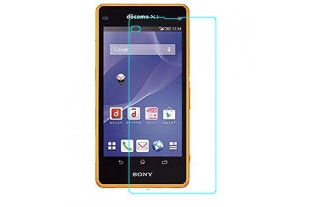Фирменная оригинальная защитная пленка для телефона Sony Xperia A2 (Z2 compact) глянцевая