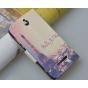 Фирменный уникальный необычный чехол-подставка с визитницей кармашком для Sony Xperia E Dual C1605