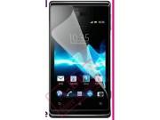 Фирменная оригинальная защитная пленка для телефона Sony Xperia E Dual C1605 глянцевая..