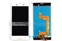 Фирменный LCD-ЖК-сенсорный дисплей-экран-стекло с тачскрином на телефон Sony Xperia M4 Aqua/Aqua Dual E2303/E2306/E2312/E2333 белый + гарантия