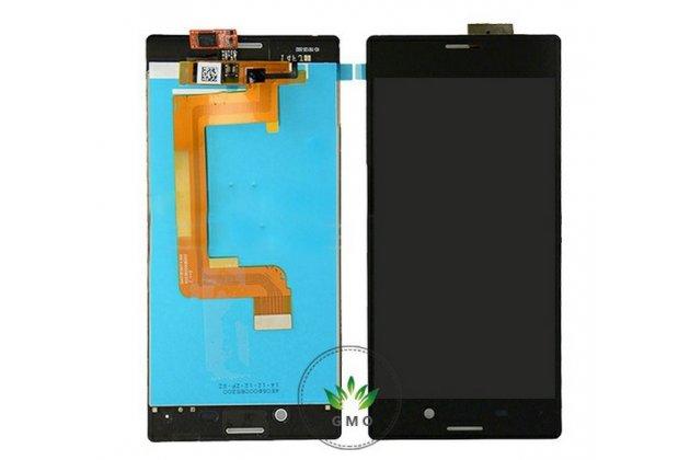 Фирменный LCD-ЖК-сенсорный дисплей-экран-стекло с тачскрином на телефон Sony Xperia M4 Aqua/Aqua Dual E2303/E2306/E2312/E2333 черный + гарантия