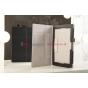 """Чехол-обложка для Sony Xperia Tablet Z черный натуральная кожа 'Prestige"""" Италия"""