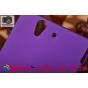 Фирменная задняя панель-крышка-накладка из тончайшего и прочного пластика для Sony Xperia Z C6602/C6603 (L36h)..