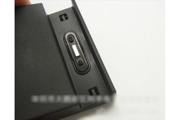 Фирменное оригинальная магнитная USB зарядная база/док-станция DK48 для телефона Sony Xperia Z3 D6603/ Z3 Dual D6633 / L55u / Sony Xperia Z3 Compact / Mini / D5803 / D5833 /M55w