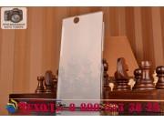 Фирменная ультра-тонкая пластиковая задняя панель-чехол-накладка для Sony Xperia Z Ultra C6802/C6833 прозрачна..