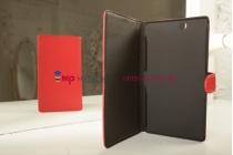 Чехол-книжка для Sony Xperia Z Ultra C6802/C6833 красный кожаный