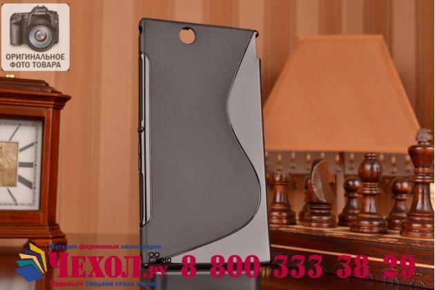 Фирменная ультра-тонкая полимерная из мягкого качественного силикона задняя панель-чехол-накладка для Sony Xperia Z Ultra C6802/C6833 черная