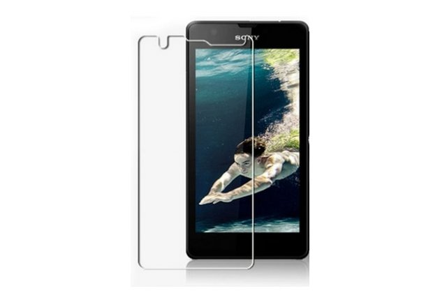 Фирменная оригинальная защитная пленка для телефона Sony Xperia ZR /ZR LTE C5502/C5503 глянцевая