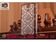 Фирменная роскошная задняя панель-чехол-накладка с расписным узором для Sony Xperia ZR /ZR LTE C5502/C5503 про..
