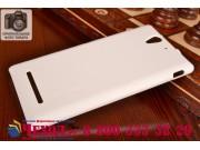 Фирменная задняя панель-крышка-накладка из тончайшего и прочного пластика для Sony Xperia C3/C3 Dual Sim D2533..