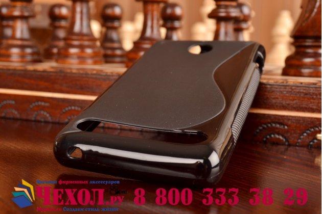 Фирменная ультра-тонкая полимерная из мягкого качественного силикона задняя панель-чехол-накладка для Sony Xperia E1/ E1 Dual D2005/ D2105 черная