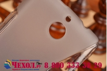 Фирменная ультра-тонкая полимерная из мягкого качественного силикона задняя панель-чехол-накладка для Sony Xperia E1/ E1 Dual D2005/ D2105 серая