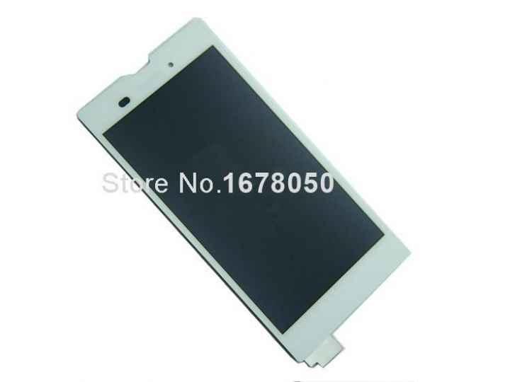 Фирменный LCD-ЖК-сенсорный дисплей-экран-стекло с тачскрином на телефон Sony Xperia T3 D5102/D5103 белый + гар..