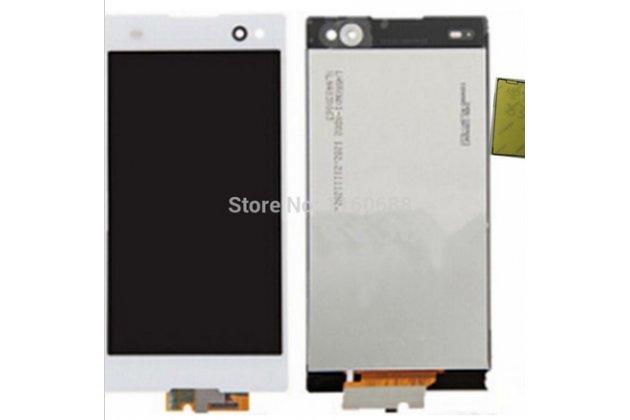 Фирменный LCD-ЖК-сенсорный дисплей-экран-стекло с тачскрином на телефон Sony Xperia Z3 D6603/ Z3 Dual D6633 белый + гарантия