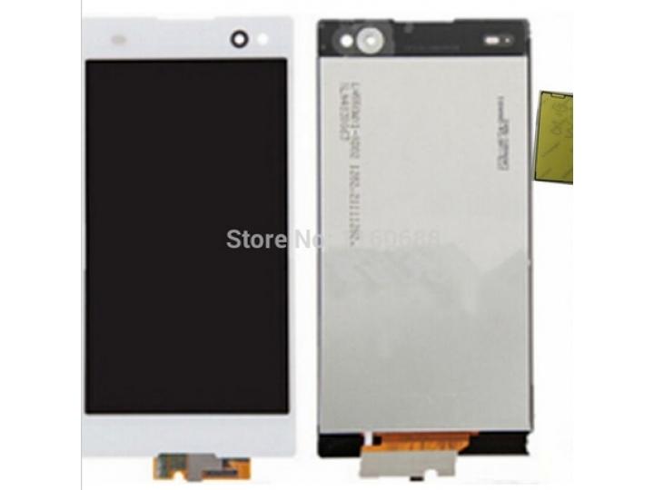 Фирменный LCD-ЖК-сенсорный дисплей-экран-стекло с тачскрином на телефон Sony Xperia Z3 D6603/ Z3 Dual D6633 бе..