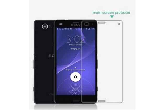 Фирменная защитная пленка для телефона Sony Z3 Compact D5803 глянцевая