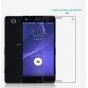 Фирменная защитная пленка для телефона Sony Z3 Compact D5803 глянцевая..