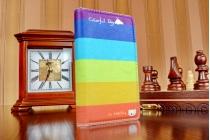 """Фирменный уникальный необычный чехол-книжка для Sony Z3 Compact D5803  """"тематика все цвета радуги"""""""