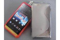 Фирменная ультра-тонкая полимерная из мягкого качественного силикона задняя панель-чехол-накладка для Sony Xperia go ST27i серая