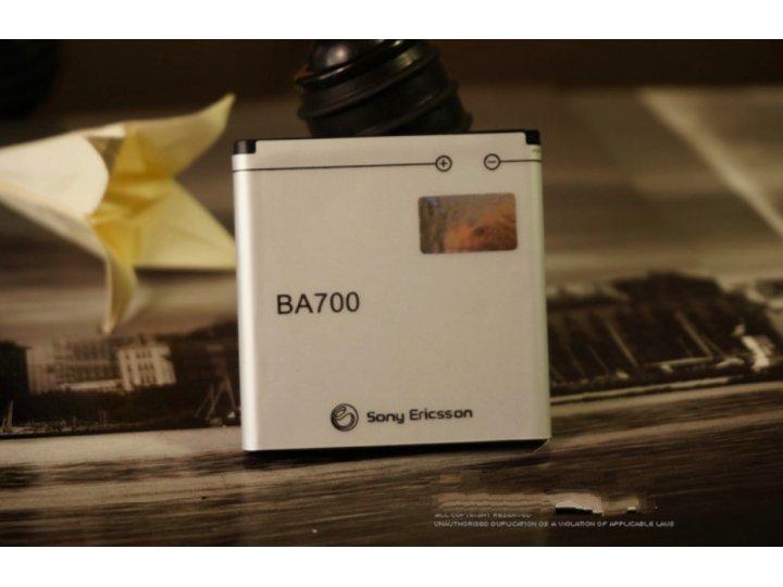 Фирменная аккумуляторная батарея BA700 1500mAh на телефон Sony Xperia miro St23i + гарантия..