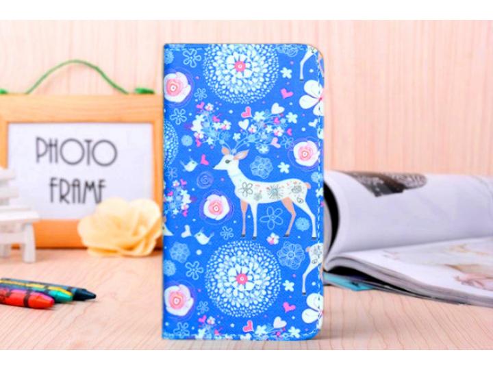 Фирменный уникальный необычный чехол-книжка для Sony Xperia miro St23i