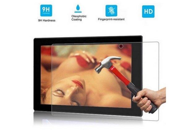 Фирменное защитное закалённое противоударное стекло премиум-класса из качественного японского материала с олеофобным покрытием для Sony Xperia Tablet Z 1 (SGP311/312/321)