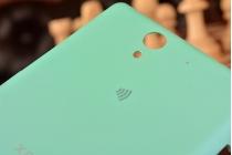 Родная оригинальная задняя крышка-панель которая шла в комплекте для Sony Xperia C3/C3 Dual Sim D2533/D2502/S55T/S55U зеленая