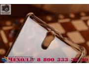 Фирменная задняя панель-крышка-накладка из тончайшего и прочного пластика для Sony Xperia C5 Ultra / C5 Ultra ..