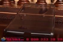 """Фирменная ультра-тонкая полимерная из мягкого качественного силикона задняя панель-чехол-накладка для Sony Xperia C5 Ultra / C5 Ultra Dual E5533 E5563/ T4 Ultra 6.0"""" серая"""