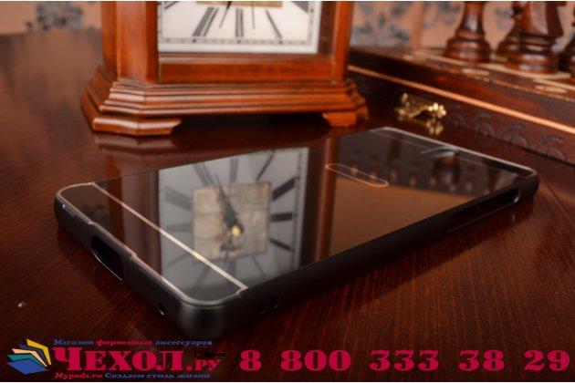 """Фирменная металлическая задняя панель-крышка-накладка из тончайшего облегченного авиационного алюминия для Sony Xperia C5 Ultra / C5 Ultra Dual E5533 E5563/ T4 Ultra 6.0"""" черная"""