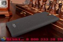 """Фирменная задняя панель-крышка-накладка для Sony Xperia C5 Ultra / C5 Ultra Dual E5533 E5563/ T4 Ultra 6.0"""" из тончайшего и прочного пластика с нескользящим покрытием черная"""