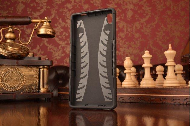 """Противоударный усиленный ударопрочный фирменный чехол-бампер-пенал для Sony Xperia C6 / C6 Ultra / XA Ultra 6.0"""" (F3212 /F3216) черный"""