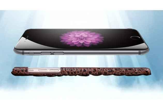 """Фирменная роскошная эксклюзивная накладка с объёмным 3D изображением рельефа кожи крокодила коричневая для Sony Xperia C6 / C6 Ultra / XA Ultra 6.0"""" (F3212 /F3216). Только в нашем магазине. Количество ограничено"""