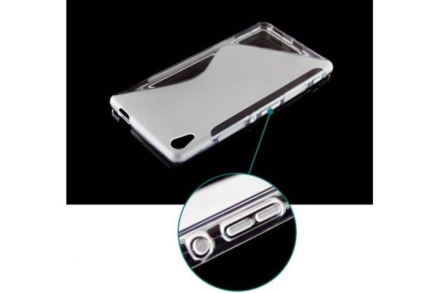 """Фирменная ультра-тонкая полимерная из мягкого качественного силикона задняя панель-чехол-накладка для Sony Xperia C6 / C6 Ultra / XA Ultra 6.0"""" (F3212 /F3216) белая"""