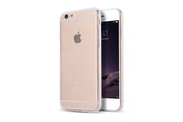 """Фирменная ультра-тонкая полимерная из мягкого качественного силикона задняя панель-чехол-накладка для iPhone 7 Plus + 5.5"""" (Айфон 7 Плюс) / iPhone 8 Plus прозрачная"""