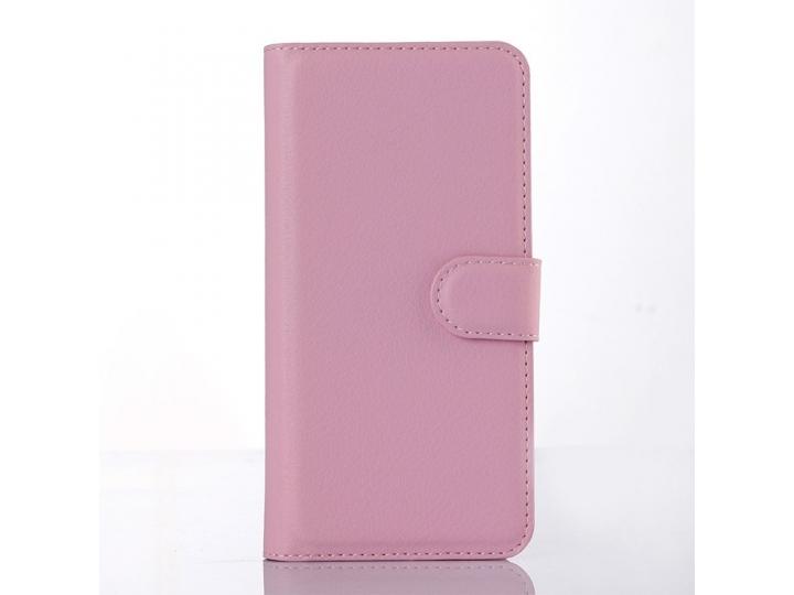 Фирменный чехол-книжка из качественной импортной кожи с подставкой и визитницей для Sony Xperia M2 Aqua D2403 ..