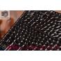 Фирменный чехол-книжка с подставкой для Sony Xperia M5 E5603/ M5 Dual E5633 лаковая кожа крокодила цвет черный..