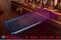 Фирменная ультра-тонкая полимерная из мягкого качественного силикона задняя панель-чехол-накладка для Sony Xperia M5 E5603/ M5 Dual E5633 фиолетовая